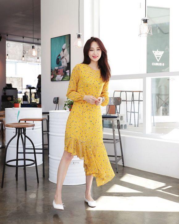 樱草黄色搭配引领新时尚,打造清新少女风