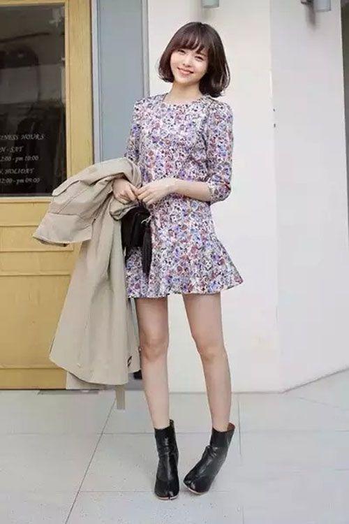 长袖连衣裙 怎么穿都好看 衣橱必备